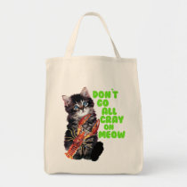 Go All Crayfish On Meow Tote Bag