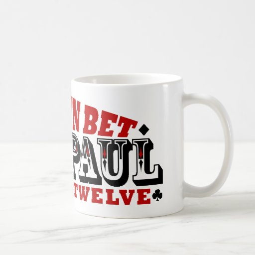 GO ALL IN BET RON PAUL COFFEE MUGS