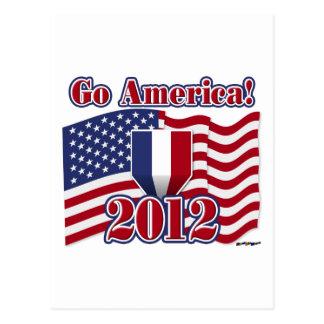 Go America! Postcard