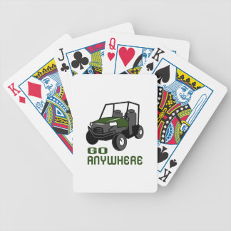 GO ANYWHERE BICYCLE PLAYING CARDS