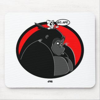 Go, Ape Mouse Pad