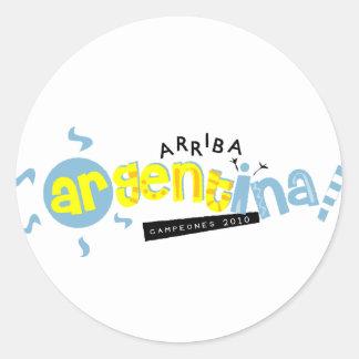 Go Argentina  Merchandise Classic Round Sticker