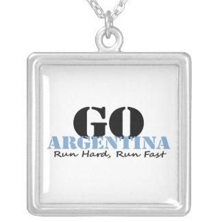 Go Argentina Run Fast Custom Jewelry