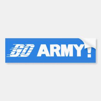 Go Army Bumper Sticker