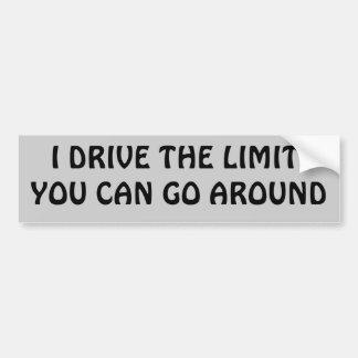 Go Around Car Bumper Sticker