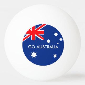 GO AUSTRALIA PING PONG BALL