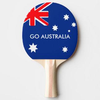 GO AUSTRALIA PING PONG PADDLE