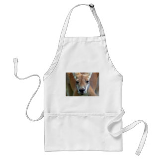 go away adult apron
