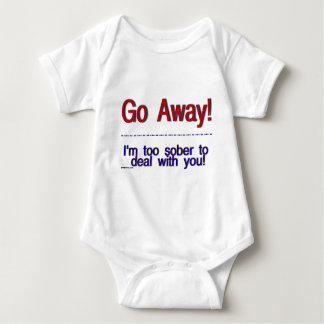 go away baby bodysuit