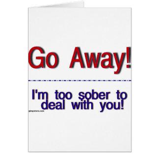 go away cards