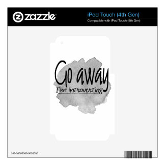 Go Away Decal For iPod Touch 4G