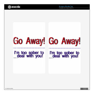go away decals for kindle fire