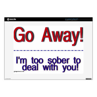 go away decals for laptops