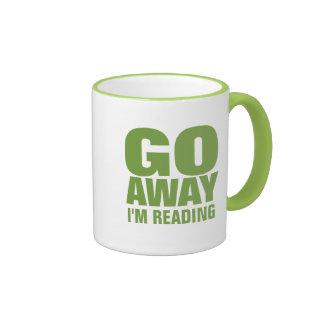Go Away I m Reading Funny Coffee Mugs