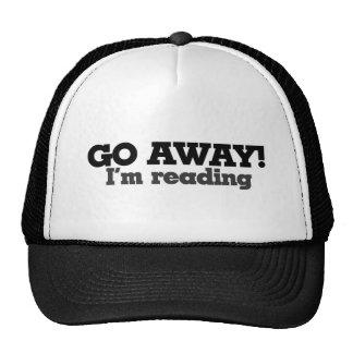 Go Away I'm Reading Trucker Hat