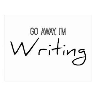 Go Away, I'm Writing Postcard