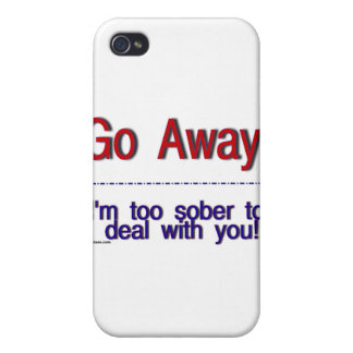 go away iPhone 4/4S cover