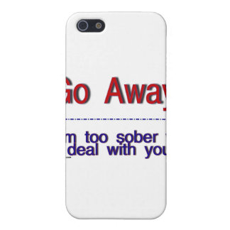 go away iPhone SE/5/5s case
