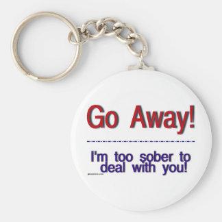 go away keychain