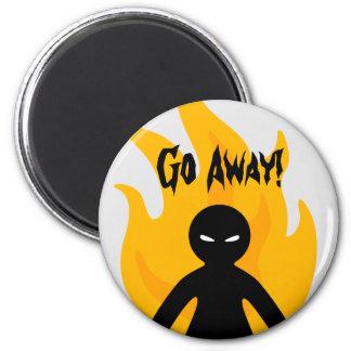 Go Away! Magnet