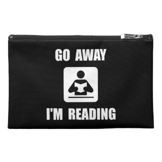 Go Away Reading Travel Accessory Bags