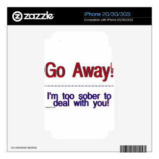 go away decals for the iPhone 2G