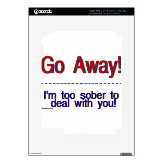 go away skins for iPad 3