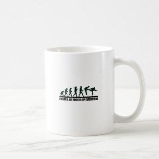 GO BACK. COFFEE MUG