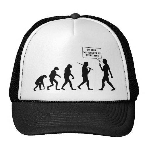 Go Back We Screwed Up Eveyrthing Trucker Hat
