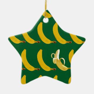 Go Bananas Ceramic Ornament