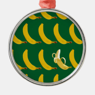 Go Bananas Metal Ornament