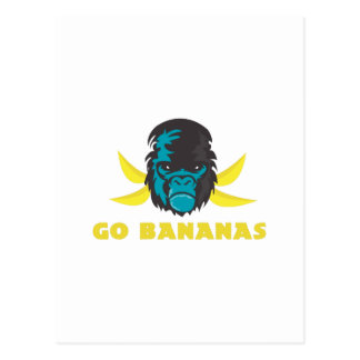 Go Bananas Post Card