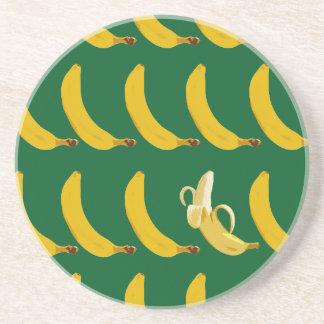 Go Bananas Sandstone Coaster
