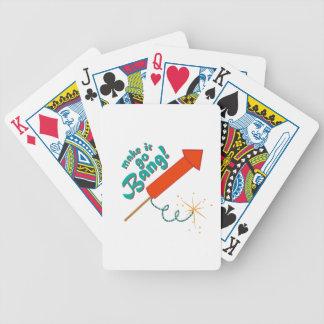 Go Bang Bicycle Playing Cards