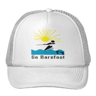 Go Barefoot - Barefoot Water Skiing Trucker Hat