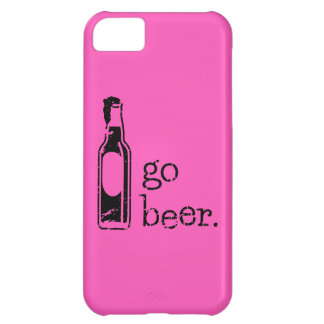 Go Beer with Beer Bottle: Any Team Colors Cover For iPhone 5C