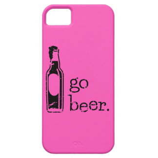 Go Beer with Beer Bottle: Any Team Colors iPhone 5 Cover
