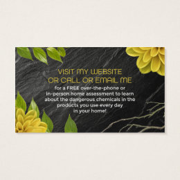Mlm business cards templates zazzle go beyond natural business cards colourmoves Gallery