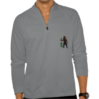 Go Big or Go Back to the Barn Half Zipper Pullover