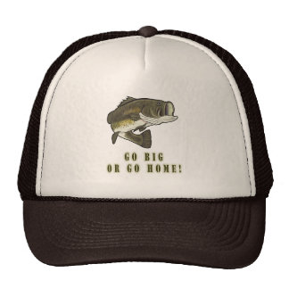 Go Big or Go Home: Largemouth Bass Mesh Hat
