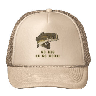Go Big or Go Home: Largemouth Bass Hats