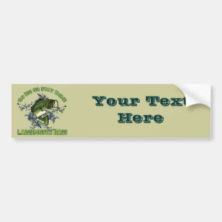 Go Big or Stay Home Car Bumper Sticker