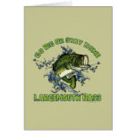 Go Big or Stay Home Greeting Card