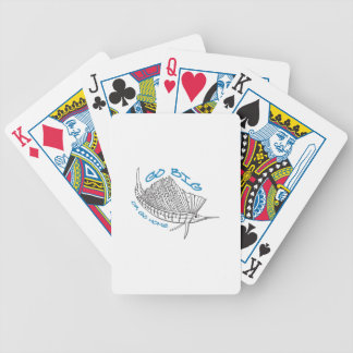 Go Big Bicycle Playing Cards