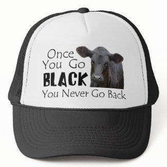 Go Black Angus hat