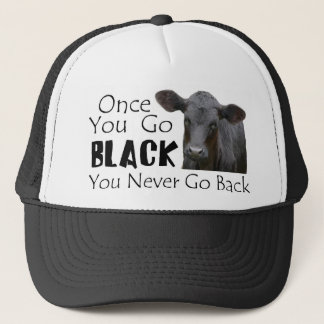 Go Black Angus Trucker Hat