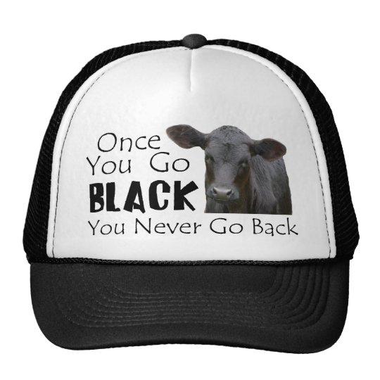 Go Black Angus Trucker Hat