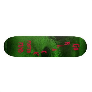 Go black footed ferret fund black ... - Customized Skateboard