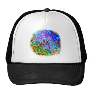 Go Blue for Dolphins Tribal Art design Trucker Hat