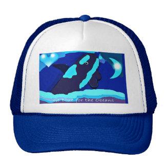 Go blue Killer whale for the oceans hat